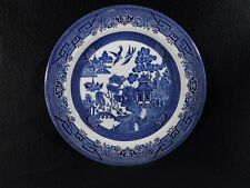 "Blue Willow Churchill China England- c1989-2006  Luncheon Plate (s) 10-1/4"" EUC"