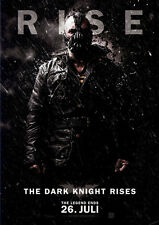 The Dark Knight Rises ORIGINAL KINOPLAKAT DIN A1 GEROLLT BATMAN / Christian Bale