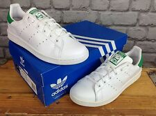 ADIDAS LADIES GIRLS UK 5.5 ORIGINALS STAN SMITH WHITE LEATHER TRAINERS