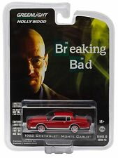 1:64 GreenLight *HOLLYWOOD R13* BREAKING BAD Red 1982 Chevrolet Monte Carlo NIP