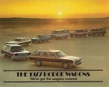Dodge Aspen Monaco Royal Sportsman Ramcharger Wagon 1977 USA Market Brochure