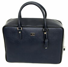 Paul & Shark YACHTING Tasche Travel Bag Leder Leather Reisetasche Navy Blue NEU
