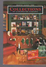 Collections of Canada Winter 1993 Stamp Catalog Mail Poste