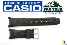 CASIO PRG-240-8 Pro Trek Pathfinder Original Charcoal Rubber Watch BAND Strap