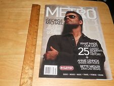 Metrosource NY Magazine George Michael Cover/Feature, Bette Midler 2008 Gay