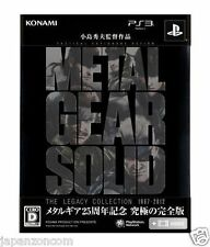 Used PS3 Metal Gear Solid: The Legacy  SONY PLAYSTATION 3 JAPAN JAPANESE IMPORT