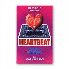 HEARTBEAT WITH BICYCLE GIMMICK BY MARK MASON & JB MAGIC CARD TRICKS GAFF VISUAL