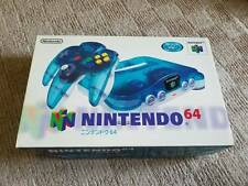 NEW Nintendo 64 Clear Blue Console N64 System Japan *COLLECTORS ITEM - $85 OFF*