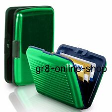 Waterproof Business ID Credit Card Wallet Holder Aluminum Metal Pocket Cases Box