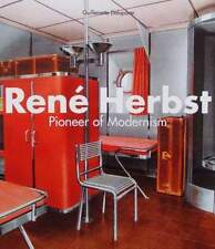 BOOK/LIVRE/BOEK/BUCH RENÉ HERBST (art deco metal/steel furniture/meuble,interior