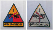 TOPPA O PATCH AMERICANA USA - 1 DIVISIONE OLD IRONSIDES