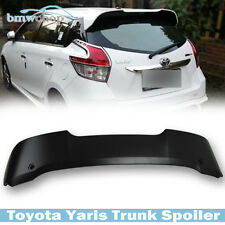 UNpainted Rear Trunk Roof Spoiler Wing LE SE for TOYOTA 3rd Yaris Hatchback 4D