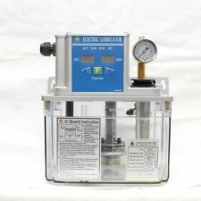 CEN02 Electric Lubricator 220VAC Lubrication Unit, Programmable, 3L tank