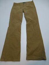 Bitten by Jessica Parker Womens 8 Brown Corduroy Bootcut Pants Great Condition