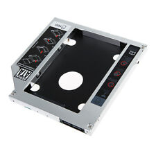 9.5mm 2nd HDD Hard Drive Caddy SATA for Universal Apple Macbook Pro Optical bay