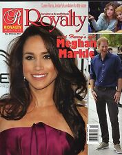 Royalty Monthly Magazine * Dec/Jan 2017 * William & Kate * Queen Rania * Harry *