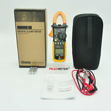 Digital Clamp Meter DC AC Volt AC Amp Ohm Tester MS2008A 2000 Counts LCD#DB