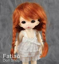 "Fatiao - New BJD Dollfie BF Pocket Pukipuki 3-4"" Mohair Dolls Wig - Carrot"