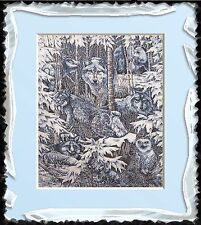 Arctic Winter Blues~Delica Bead Peyote Pattern Only