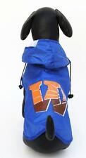 Dog Rain Coat Waterproof Jacket Hoodie Clothes Puppy Pet Apparel Colorful Casual