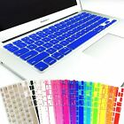 "Keyboard Soft Case for Apple MacBook Air Pro 13"" 15"" 17"" inch Cover 15 Colors US"