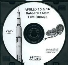 APOLLO 15 & 16 ONBOARD 16MM FILM FOOTAGE (DVD) (NTSC)
