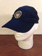 Men's Black Poly/Cotton United States Soccer Federation Adjustable Baseball Cap