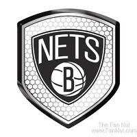 Brooklyn Nets High Intensity SHIELD Reflector Emblem Decal Basketball