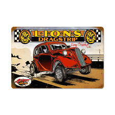 Hot Rod US Muscle Car Prostreet Dragster Blechschild Schild Groß
