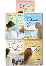 Anna Jacobs The Trader Series 5 Books Collection Set Trader's Gift, Wife, Reward