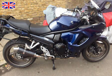 Suzuki GSX1250 FA 10-16 SP Engineering Carbon Fibre Round Big Bore XLS Exhaust