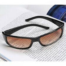 EURO STYLE, SUNGLASS READERS -  ULTRA DEFINITION,  BUILT-IN BIFOCAL BANDS, +2