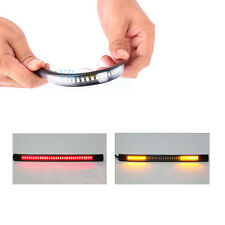 Universal Motorbike Flexible 48LED Tail Brake Stop Light Turn Signal Light Strip