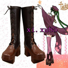 COS Cutomize Vocaloid Miku Senbonzakura Cosplay  Boots Pretty Shoes Any Size