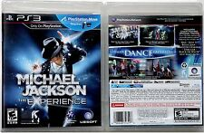 "JACKSON M. ""THE MICHAEL JACKSON EXPERIENCE"" 2011 US UBISOFT SONY PS3 VIDEO GAME"
