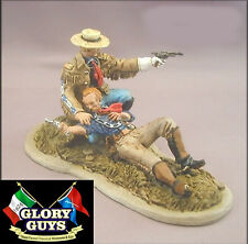 54mm 7th Cavalry G.A. Custer & Tom Custer Vignette Little Big Horn Kit NEW!