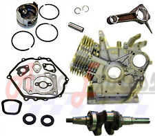 NEW Honda GX390 w/ Crankshaft 13HP Rebuild Kit Piston Con Rod Gasket Set Block