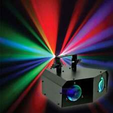 Dual Moonflower DMX RGB Music Active Rotating LED Stage Lighting Club DJ Party