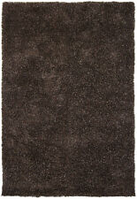 5x8' Chandra Rug  Barun Hand-woven Contemporary Shag  Polyester BAR21300-576