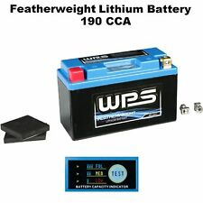 Featherweight Lithium Ion Battery 190 CCA ATV Offroad Dirt 4 Wheeler Quad
