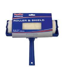 "PAINT ROLLER WITH 9"" SHIELD GUARD FOR WALL CEILING EMULSION PAINTING"