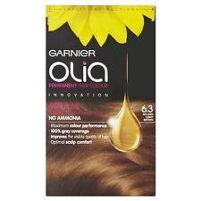 Garnier Olia Permanent Hair Colour 6.3 Golden Light Brown