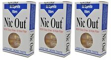 NIC-OUT filters 3-packs 90 Filters Cut The Tar FREE SHIPPING