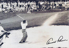 ARNOLD PALMER Signed 12x8 Photo GOLF Legend US MASTERS RYDER CUP COA