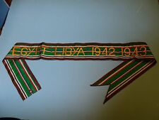 rst022 WW 2 US Army Flag Streamer ETO Egypt Libya 1942 1943