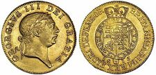 1813 MILITARY GUINEA BRITISH GOLD COIN GEORGE III CERTIFIED AU58=  PRICE REDUCED