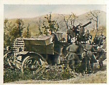 Kraftwagen Automobile Flak War France Deutsches Heer WWI WELTKRIEG 14/18 CHROMO