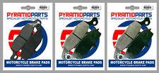Kawasaki ZR-7S 750 2001 Front & Rear Brake Pads Full Set (3 Pairs)
