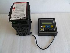 POWERLOGIC SQUARE D POWER METER 3020 PMD-32 & 3020 PM-650