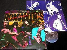 THE ROMANTICS National Breakout / Dutch LP 1980 EPIC EPC 84716